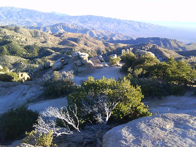 Mount Lemmon, Windy Point Vista