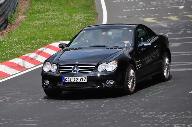 Nordschleife weekend – Black Benz