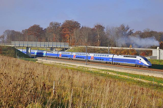 Euroduplex sur LGV Rhin-Rhône