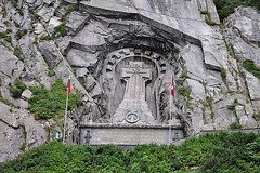 Holiday 2009 – Monument for general Suwerow who defeated the French at the Devil's Bridge in 1799