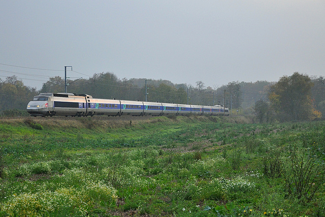 TGV hivernal