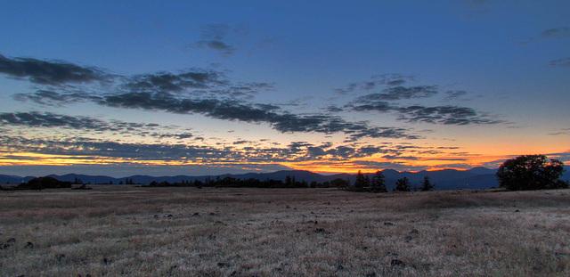 Sunset Last Shot of the Evening
