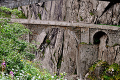 Holiday 2009 – Old Devil's Bridge of the Gotthard Pass, Switzerland