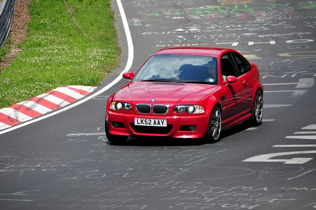 Nordschleife weekend – Red BMW