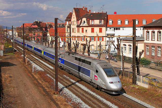 TGV POS à Colmar