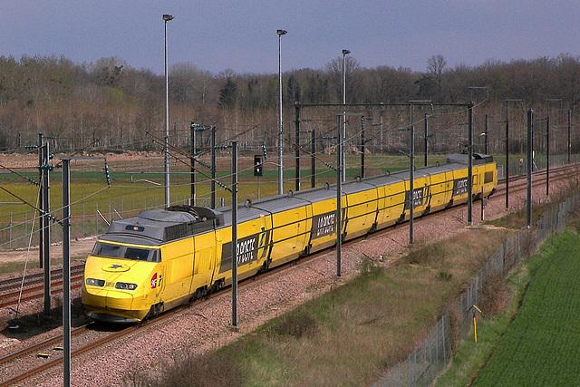 TGV Postal sur LGV SE