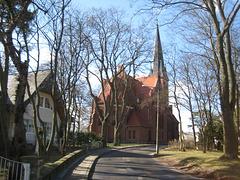 Usedom - Kirche in Ahlbeck