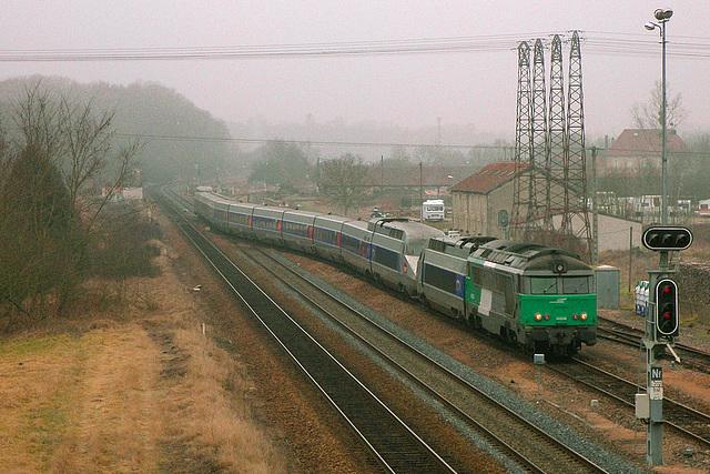 Le Yaya et le TGV
