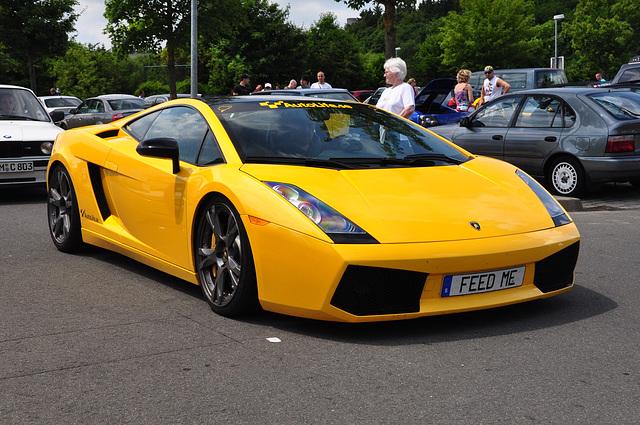 Nordschleife weekend – Yellow Lamborghini Gallardo