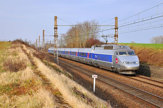 TGV au PK 361
