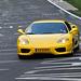 Nordschleife weekend – Yellow Ferrari