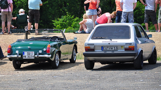 Nordschleife weekend – MG and a Volkswagen Polo