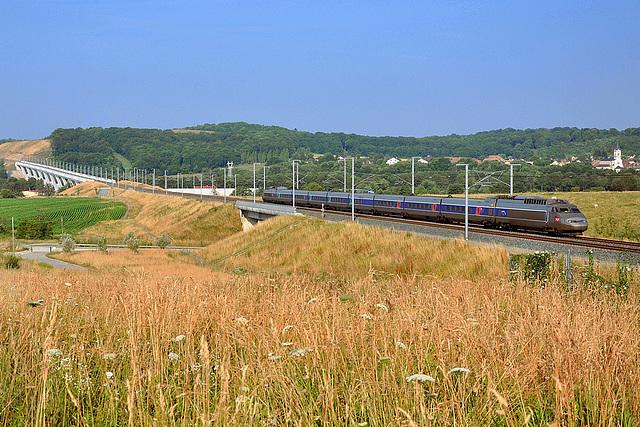 Deuxième TGV impair de la journée