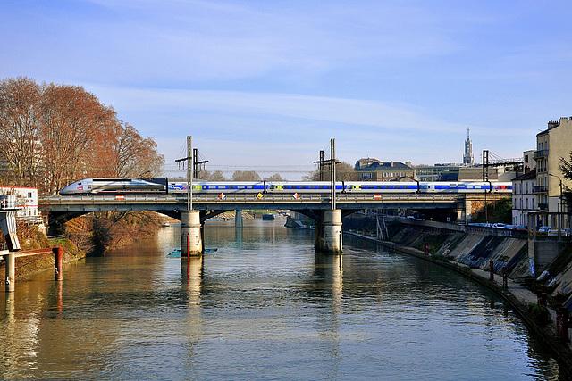 Rame du record aux portes de Paris