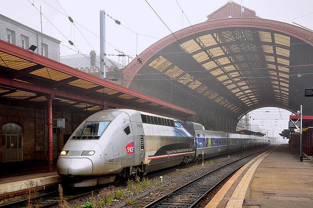 Rame du record à Strasbourg