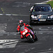 Nordschleife weekend – Bike with a Benz on its tail