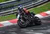 Nordschleife weekend – 2006 Yamaha FZ1 going through the corner