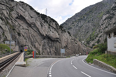 Holiday 2009 – New Devil's Bridge of the Gotthard Pass, Switzerland