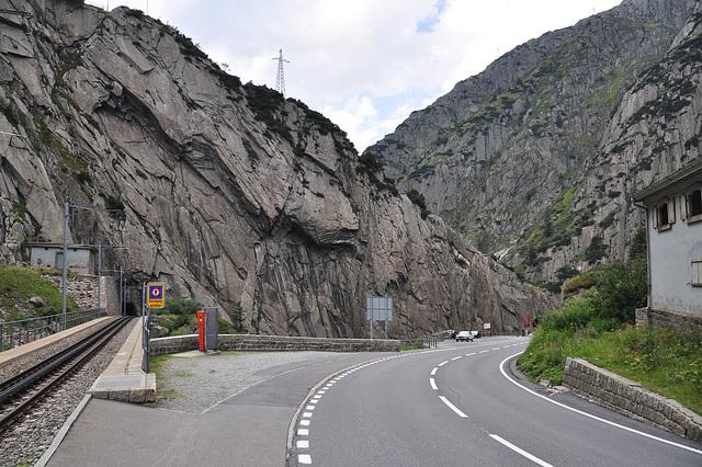 Holiday 2009 – New Devil's Bridge of the Gotthard Pass, Switzerland