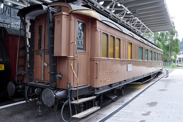 Holiday 2009 – 1914 Four-axle dining car Dr4ü nr. 10222