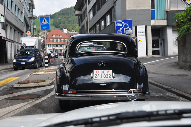 Holiday 2009 – Mercedes-Benz 300 in Bern