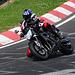 Nordschleife weekend – 2006 Yamaha FZ1 going through the corner