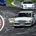 Nordschleife weekend – White Benz and Porsche