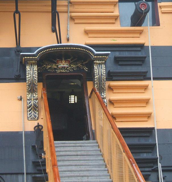 HMS Victory - Entrance