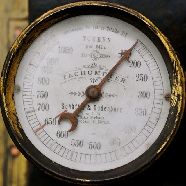 Holiday 2009 – Tachometer