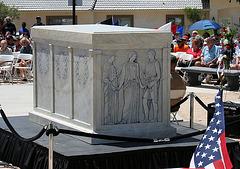 Memorial Day Ceremony In Desert Hot Springs (1954)