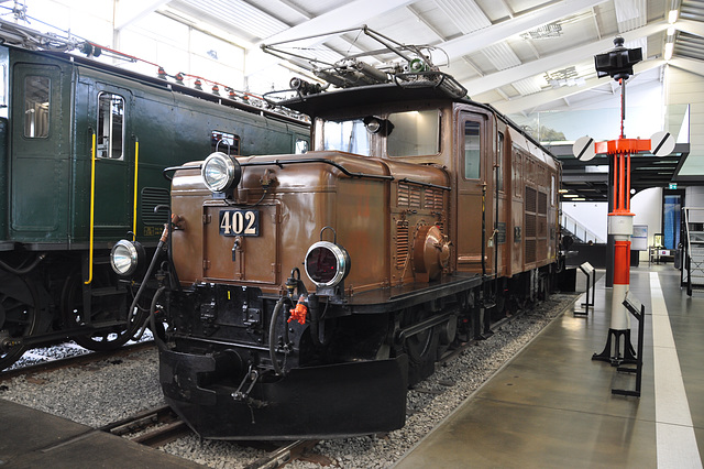 Holiday 2009 – 1921 Electrical freight engine Ge 6/6I nr. 402