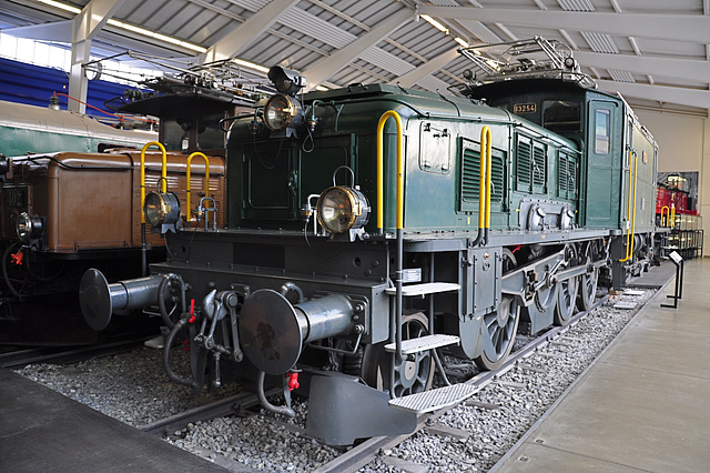 Holiday 2009 – 1920 Electric Freight Engine Be 6/8 II nr. 13254 Crocodile
