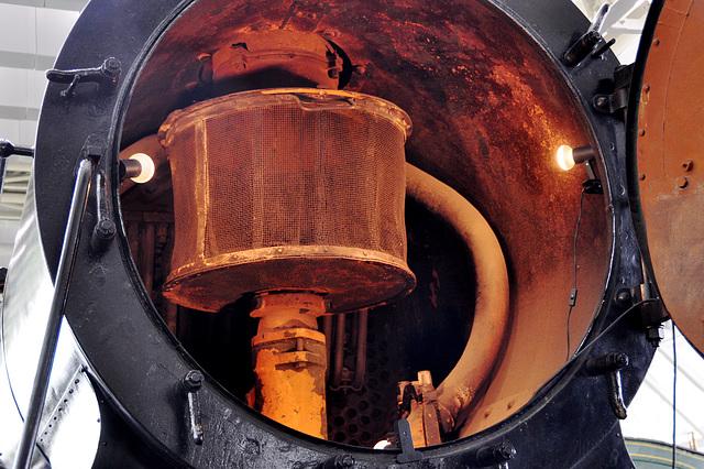 Holiday 2009 – Smoke box of the 1916 Steam engine C 5/6 nr. 2965 Elephant