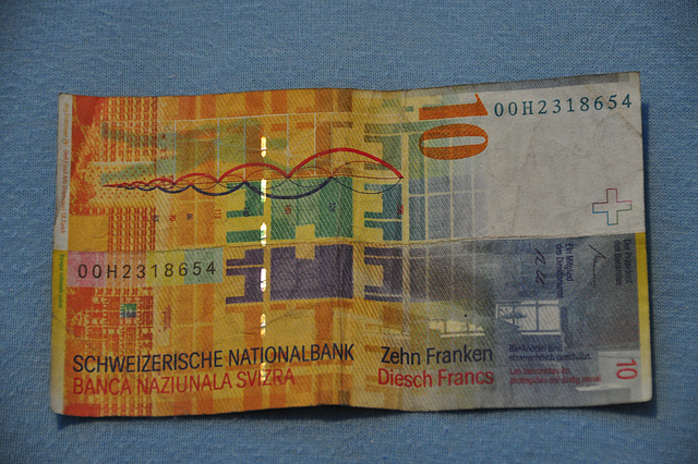 Holiday 2009 – 10 Swiss Francs