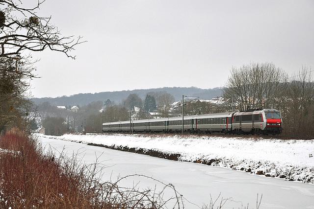 Ambiance hivernale dans la Vallée du Doubs