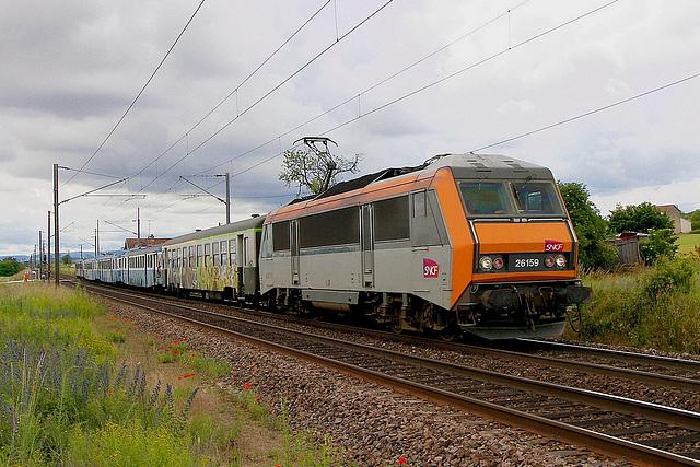Convoi mortuaire pour la 26159