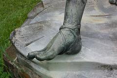 piedo de Hermes de Napolo (Fuß des Hermes von Neapel)