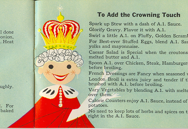 To Add the Crowning Touch
