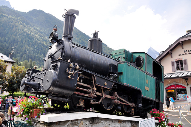 Holiday 2009 – Old steam engine of the Montenvers Railway