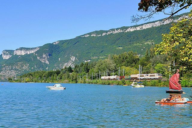 Fret au bord du lac