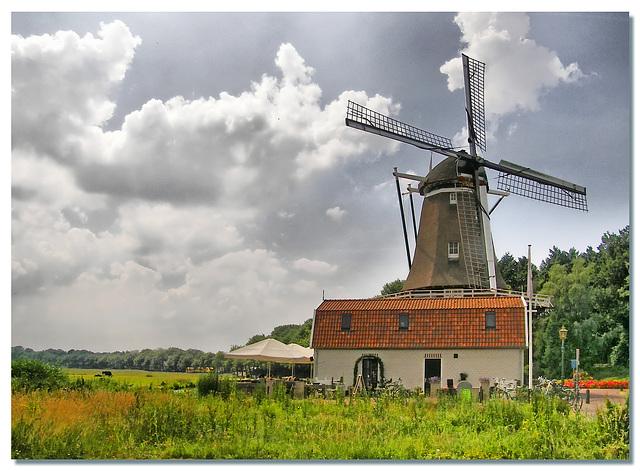 """Grain Mill """"De Hoop"""" anno 2008"""