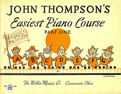 Elves adorn this cute Piano Primer
