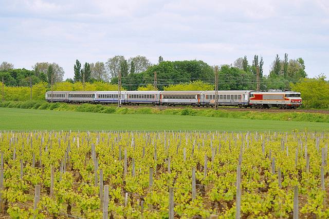 La CC 6570 à Vougeot