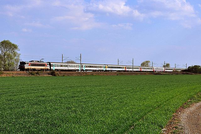 Eurocity en plaine d'Alsace