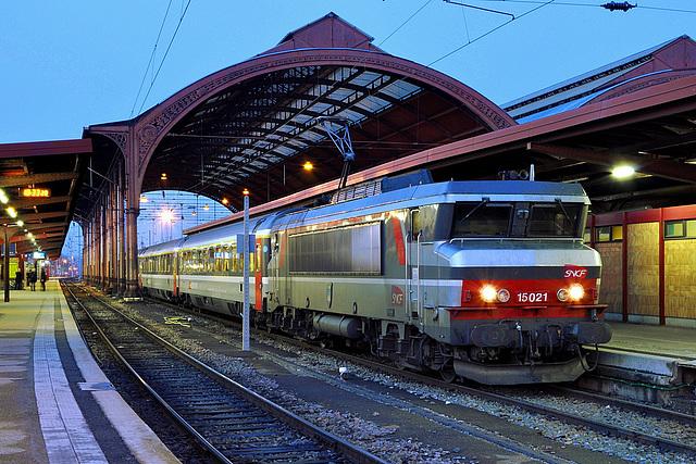 Eurocity à l'heure bleue