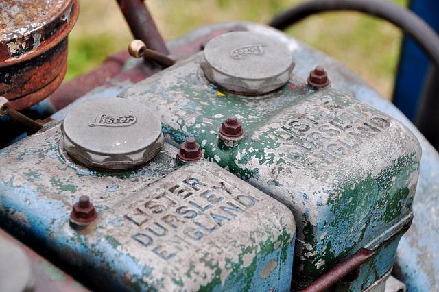 Oldtimershow Hoornsterzwaag – Lister diesel engine