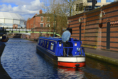 Worcester and Birmingham Canal, Central Birmingham