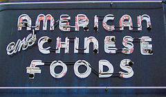 American and Chinese Foods