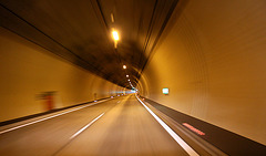 Autobahntunnel kurz vor Landeck