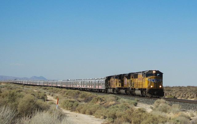 Mojave: Ringling Bros Barnum Bailey Circus Train (3225)